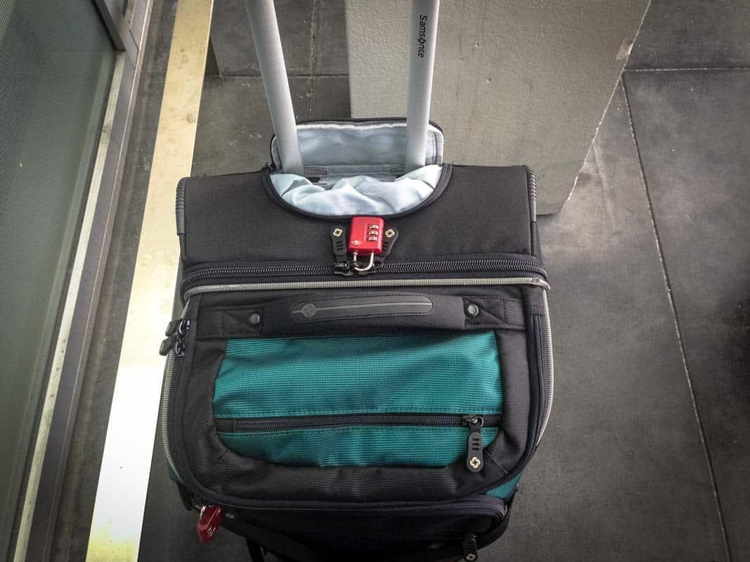 Pak praktisk med en duffel på hjul