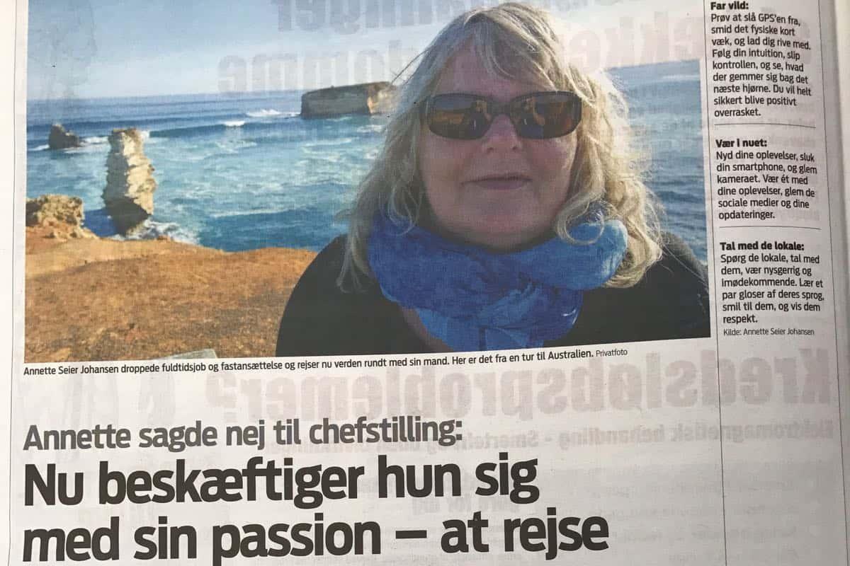 En meget personlig artikel i Jyllands-Posten