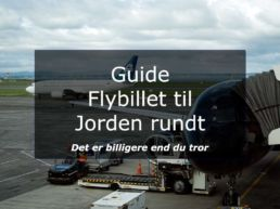 Guide Flybillet til Jorden rundt