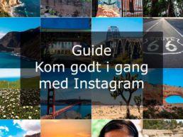 Guide kom godt i gang med Instagram
