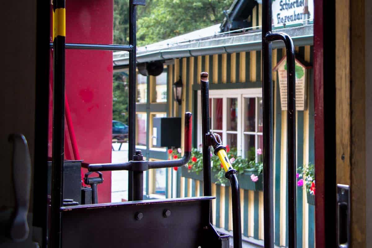 Damplokomotiv gennem Harzen – Tyskland