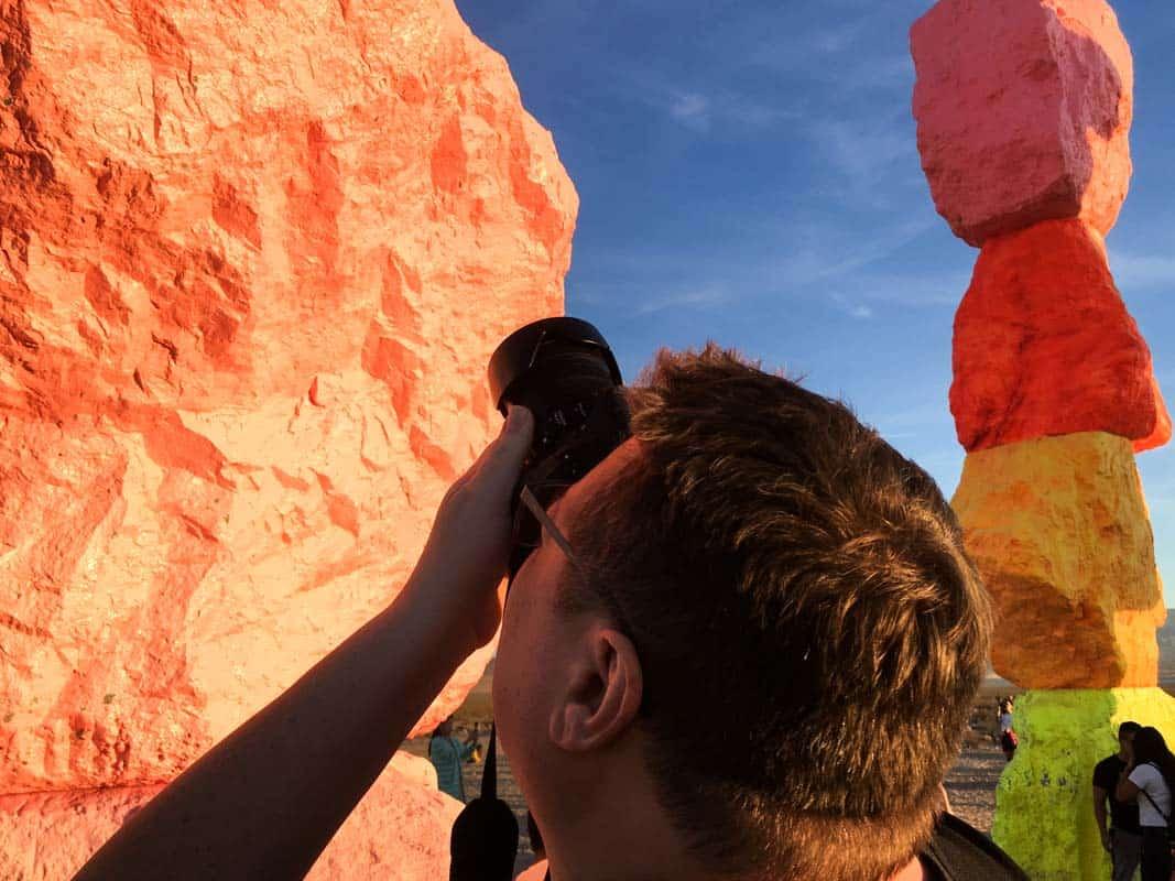 Kunst i Nevadas ørken – Las Vegas, USA