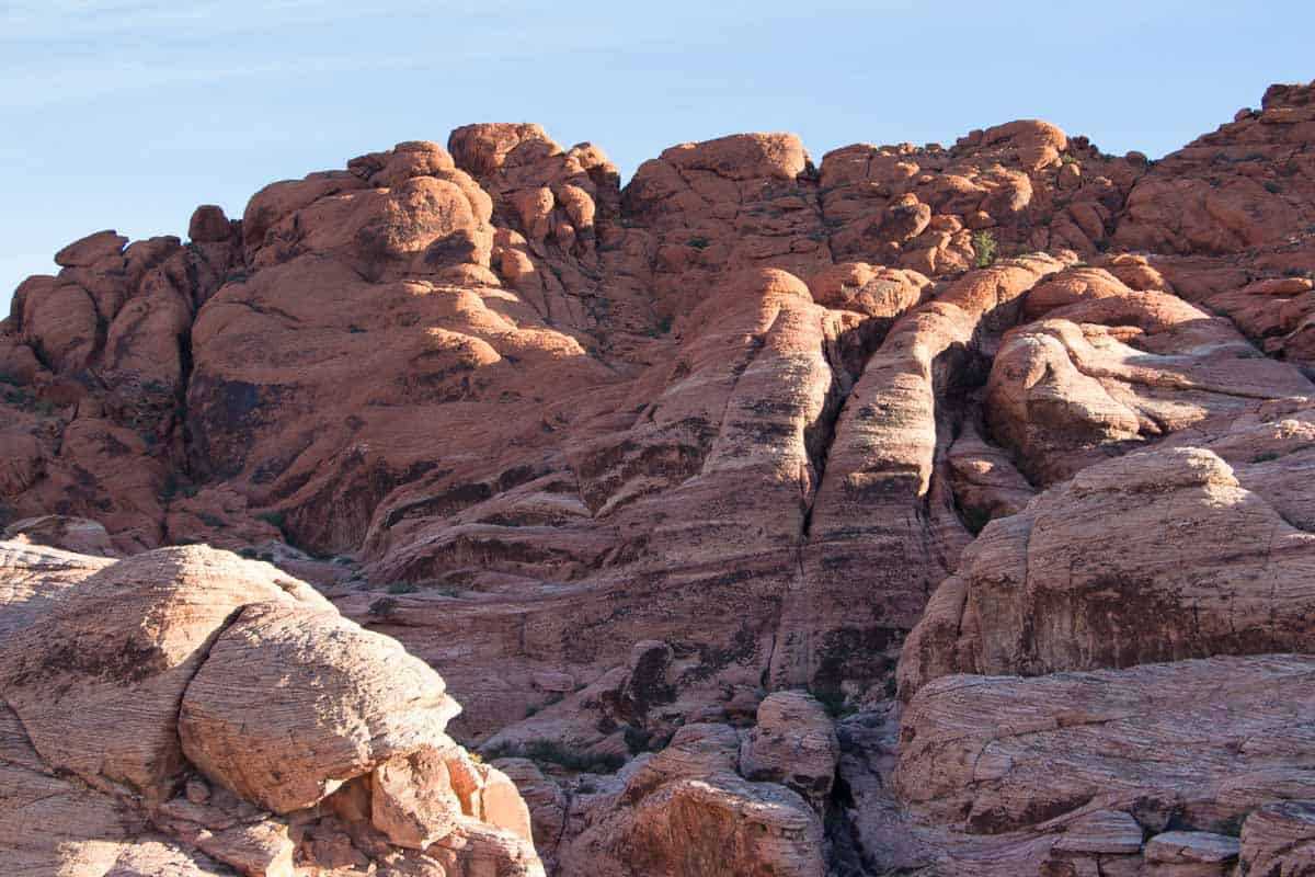 Red Rock Canyon er natur tæt på The Strip – Las Vegas USA