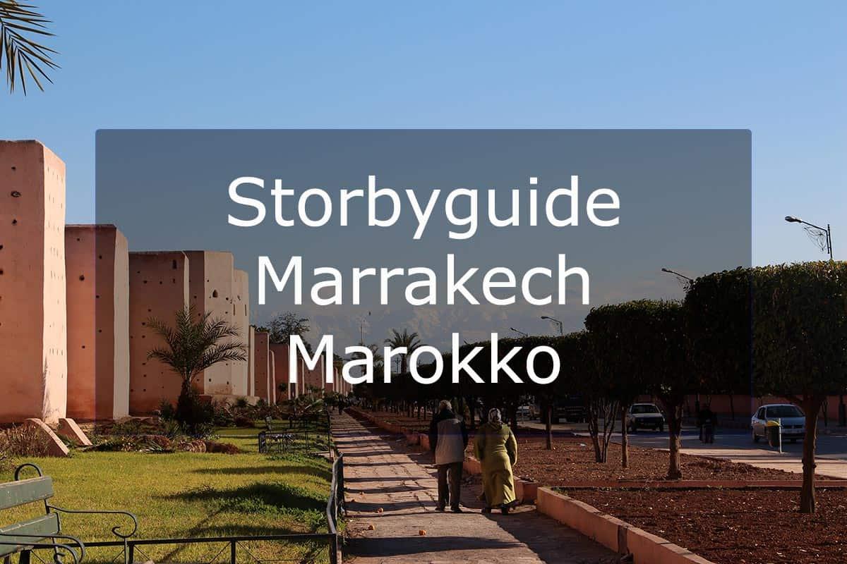 Storbyguide Marrakech – Marokko