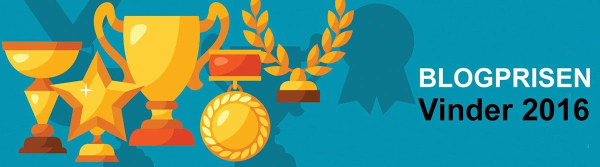 2016 Blogprisen, Vinder badge