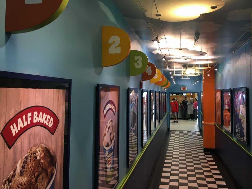 Besøg på Ben & Jerry's isfabrik – Vermont, USA