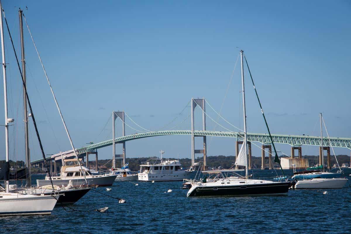 Newport er New Englands sommer udflugtssted - Rhode Island, USANewport er New Englands sommer udflugtssted - Rhode Island, USA