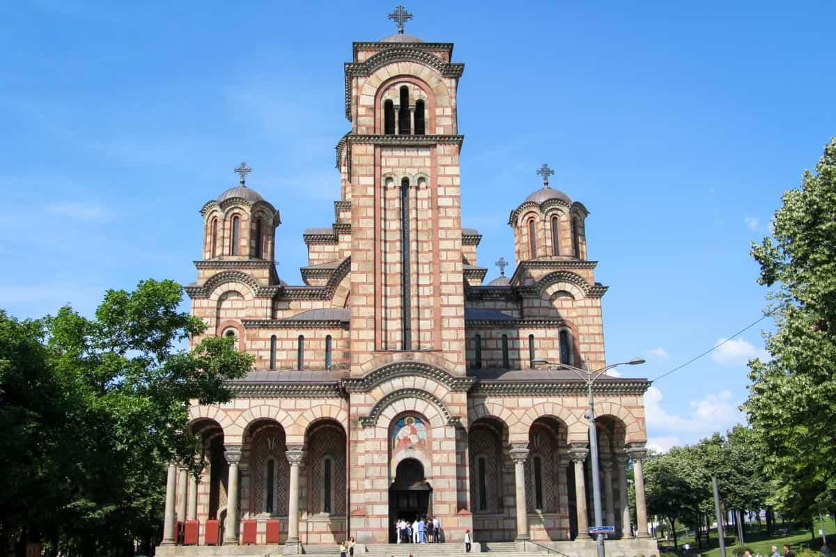 12 postkort fra Beograd - Serbien