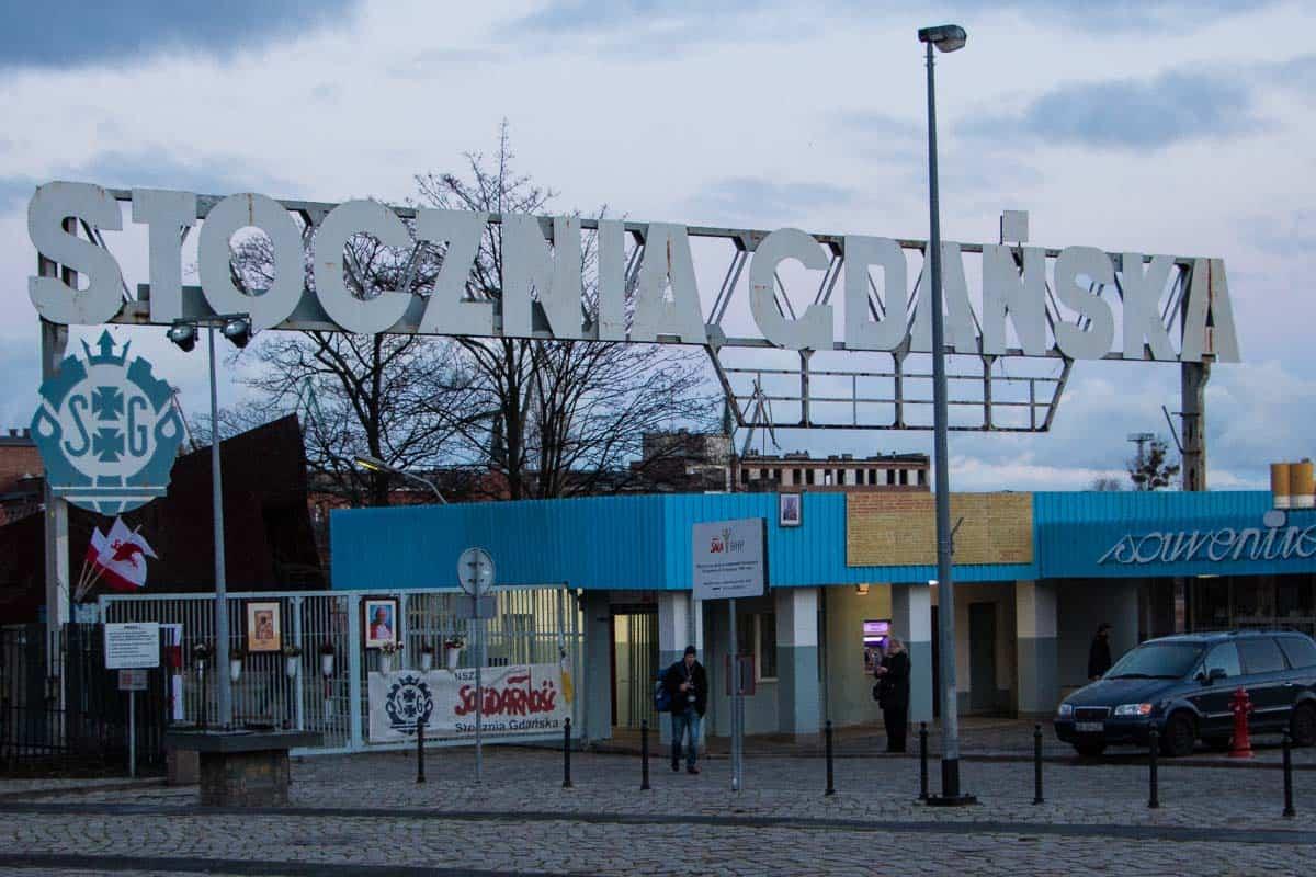 I Solidaritets fodspor - Gdansk, Polen