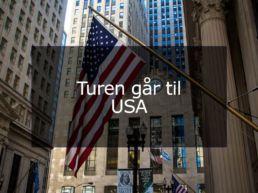 Turen går til USA