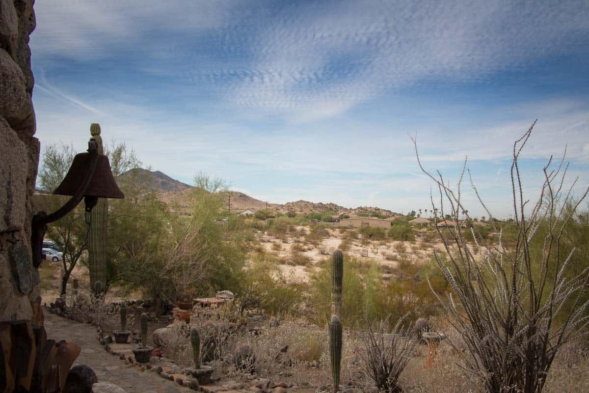 Det mystiske eventyrslot - Phoenix, USA