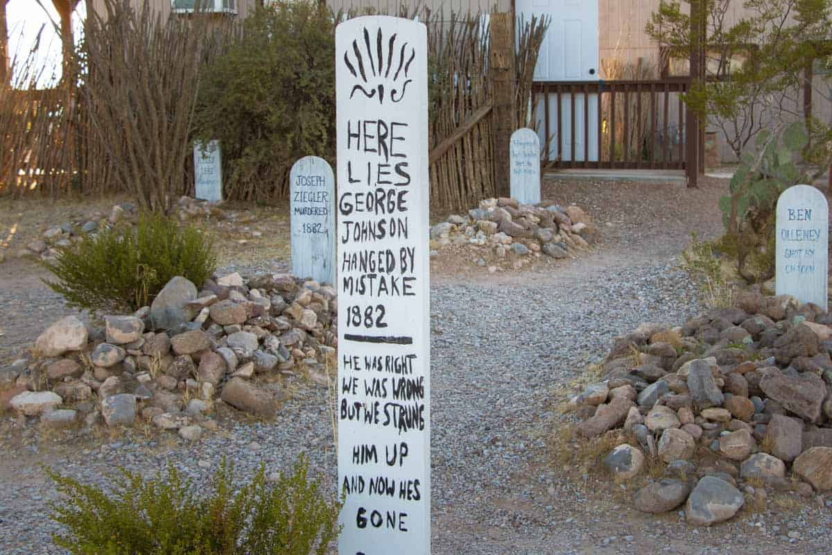 Det vilde vesten og spøgelsesbyer i det sydvestlige Arizona - USA