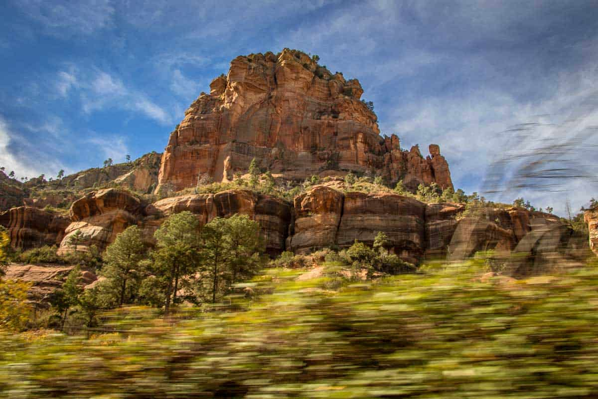 Sedona er en by midt i naturen - Arizona, USA
