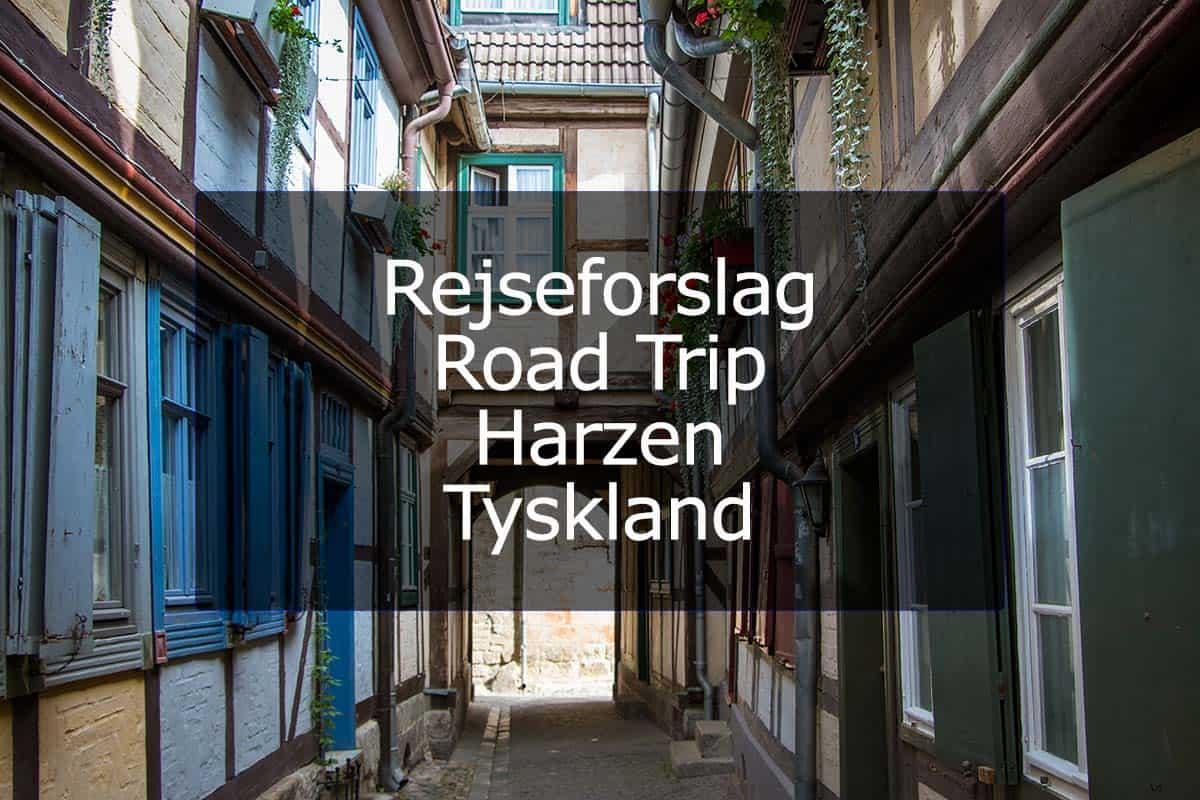 Rejseforslag Road Trip – Harzen, Tyskland