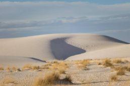 White Sands med de enorme sandklitter - New Mexico, USA