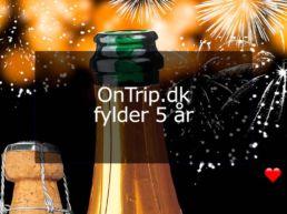 OnTrip.dk fylder 5 år