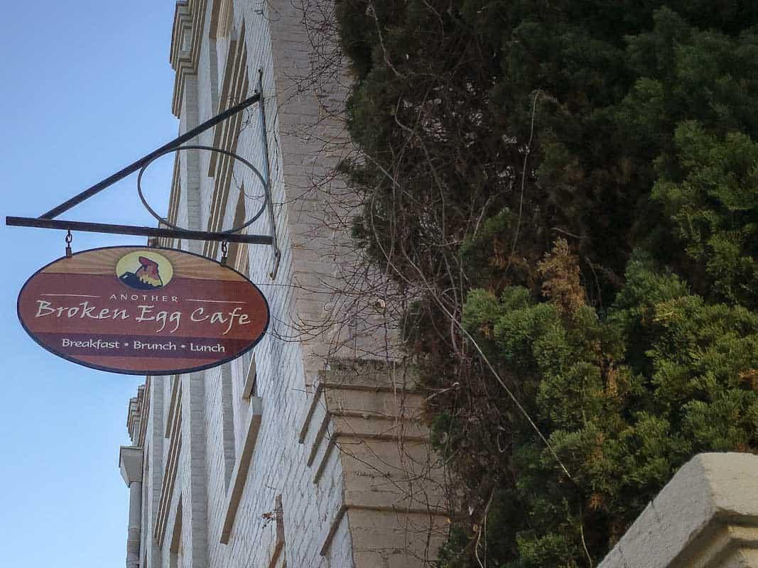 Anmeldelse af Broken Egg Cafe - Charleston, USA