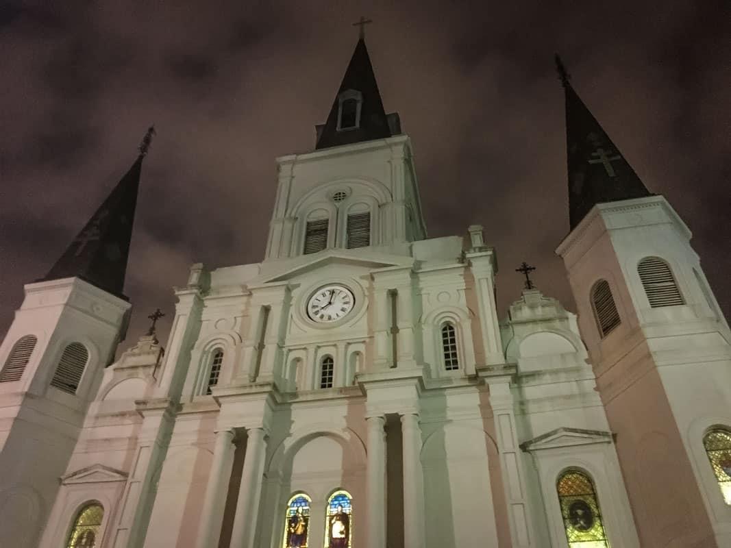 24 timer i New Orleans - USA