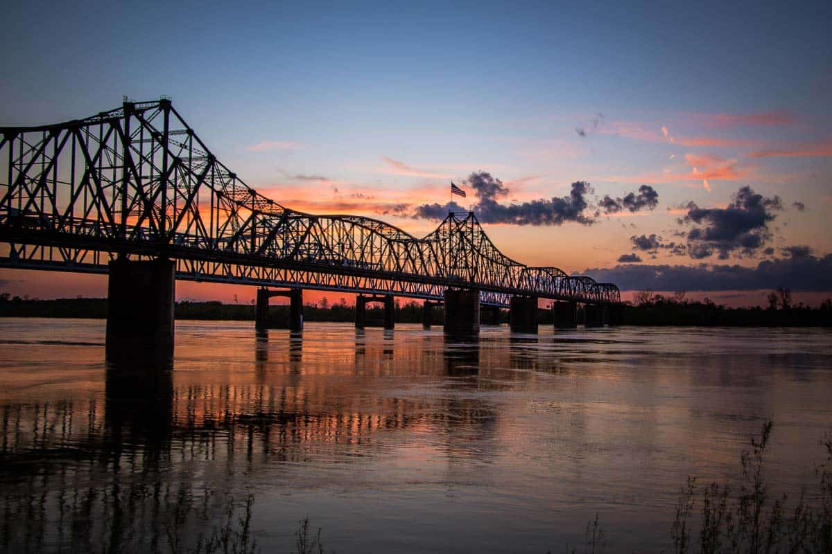 24 timer i Vicksburg, USA