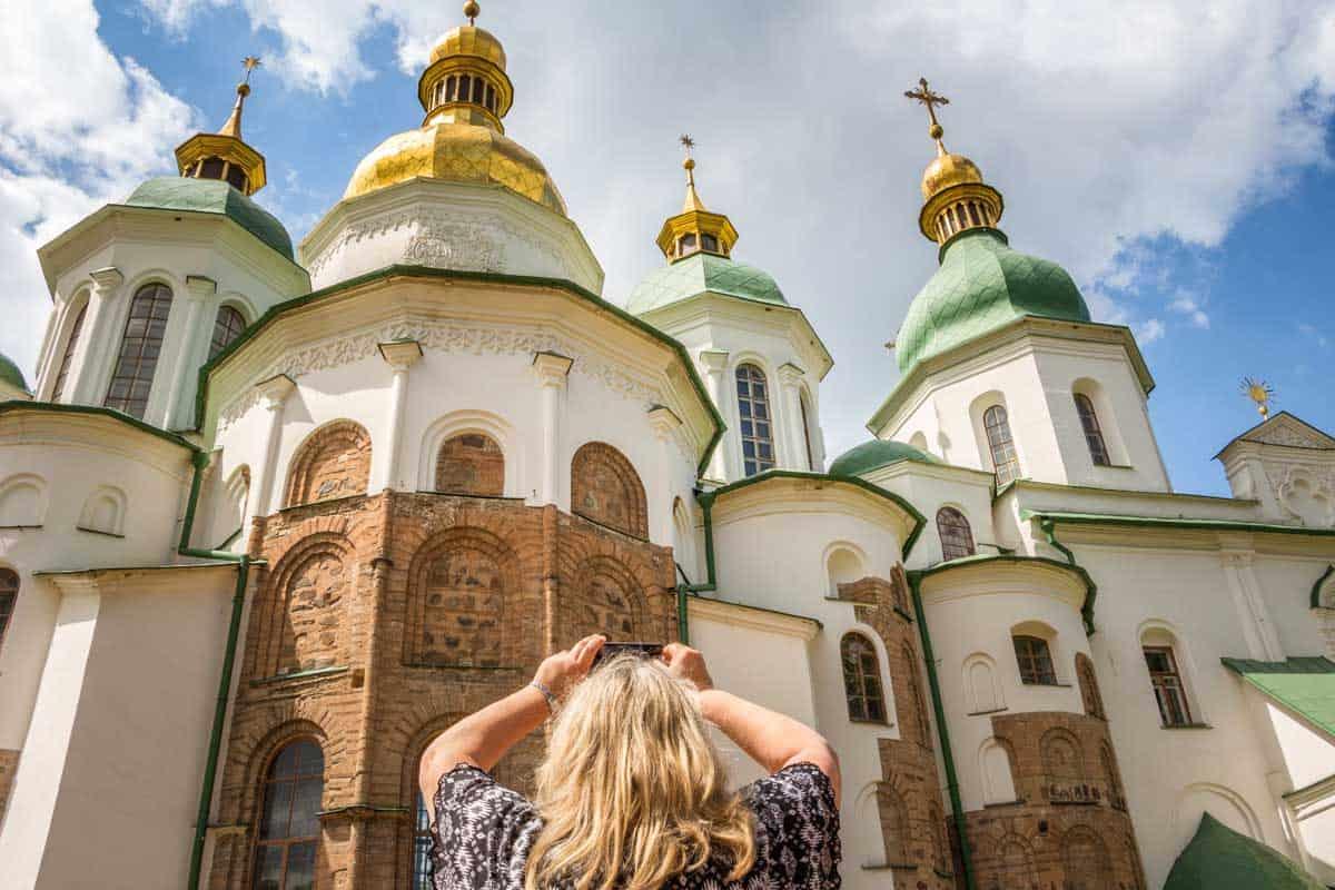 12 Postkort fra Kiev - Ukraine