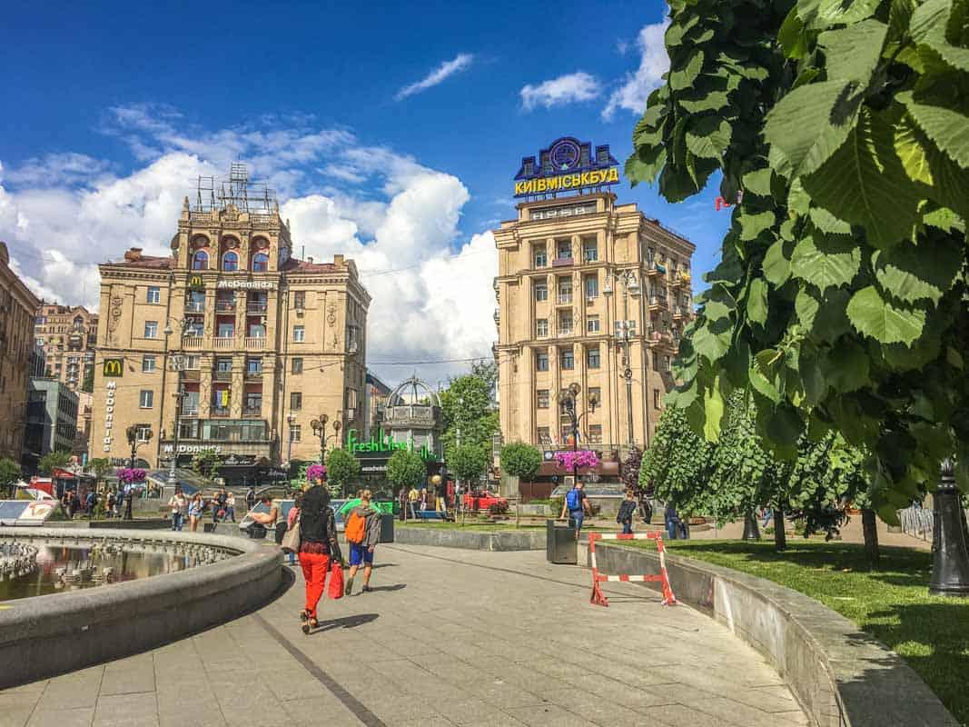 Seværdighederne i Kiev - Ukraine