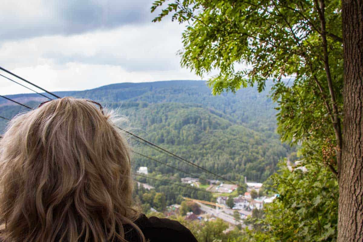 Turen går til Thüringen - Tyskland