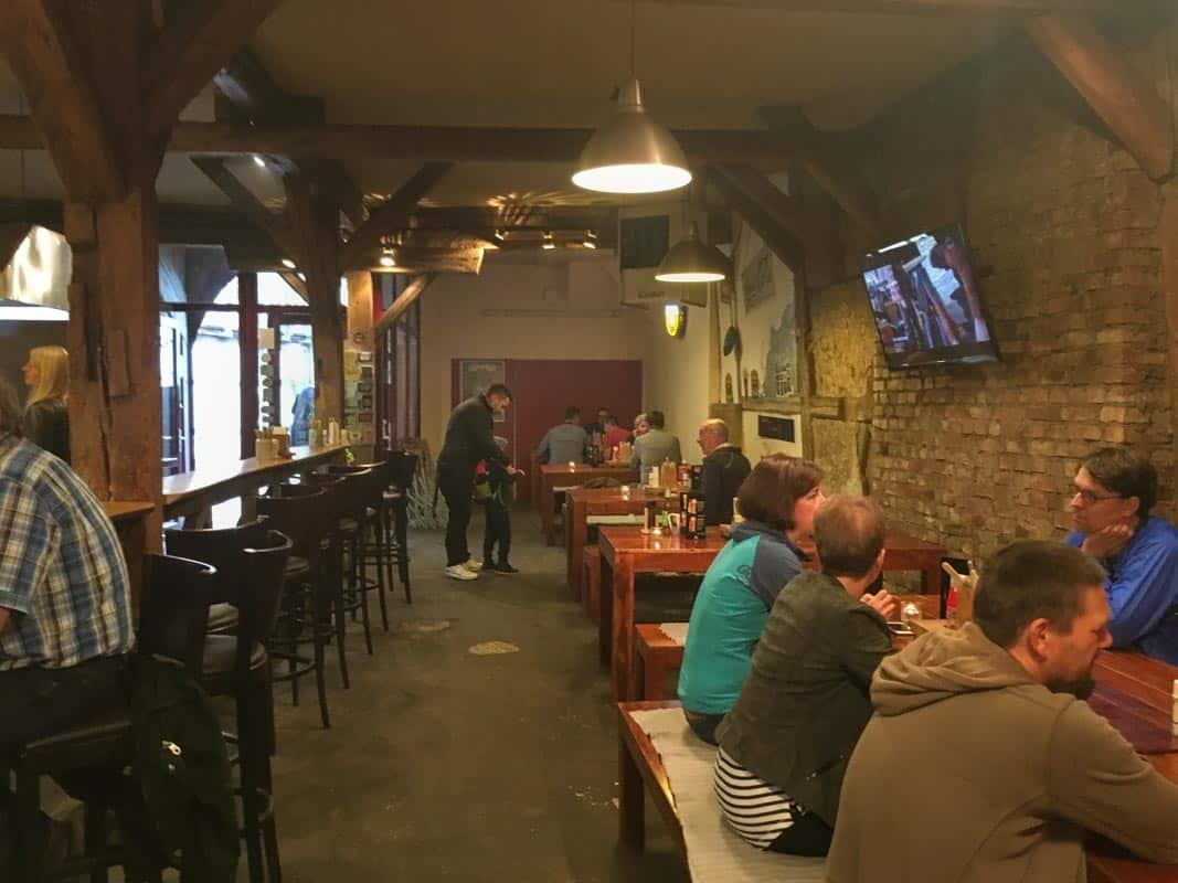 3 gode restauranter i Erfurt - Tyskland