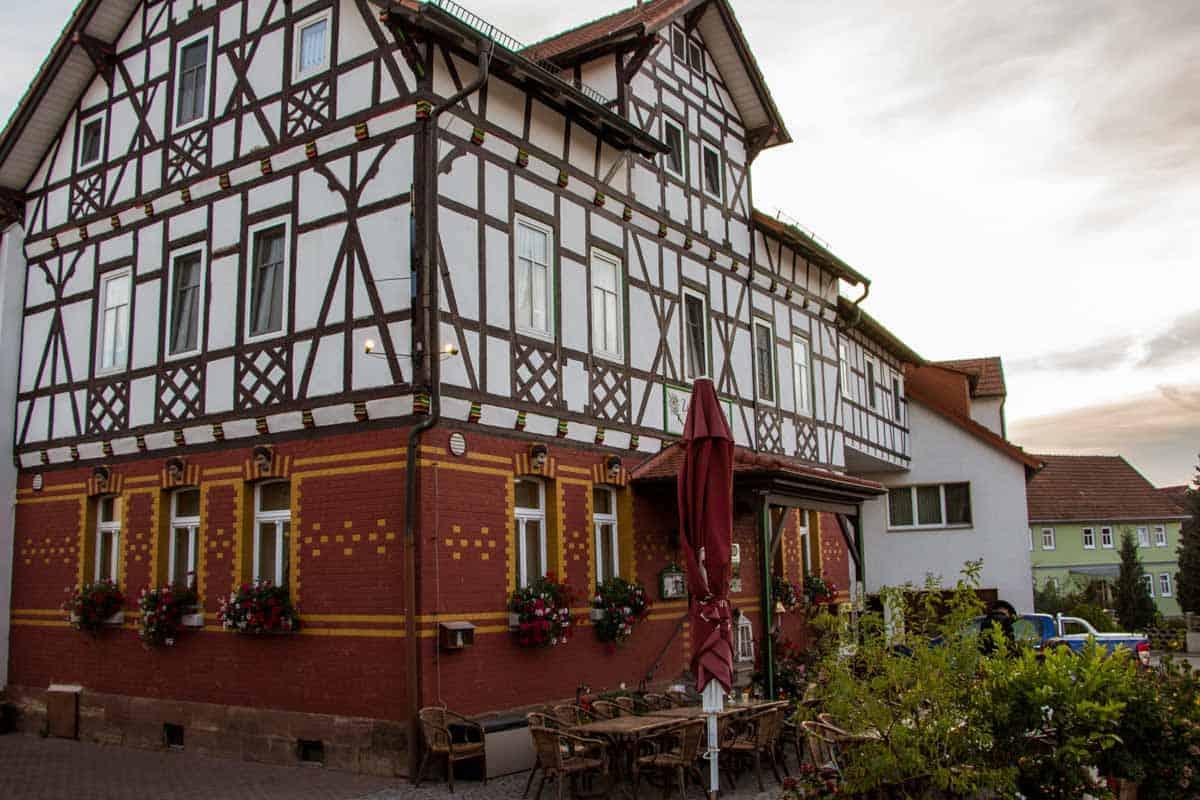 Anmeldelse af Landhotel Zur Grünen Kutte - Bernshausen, Tyskland