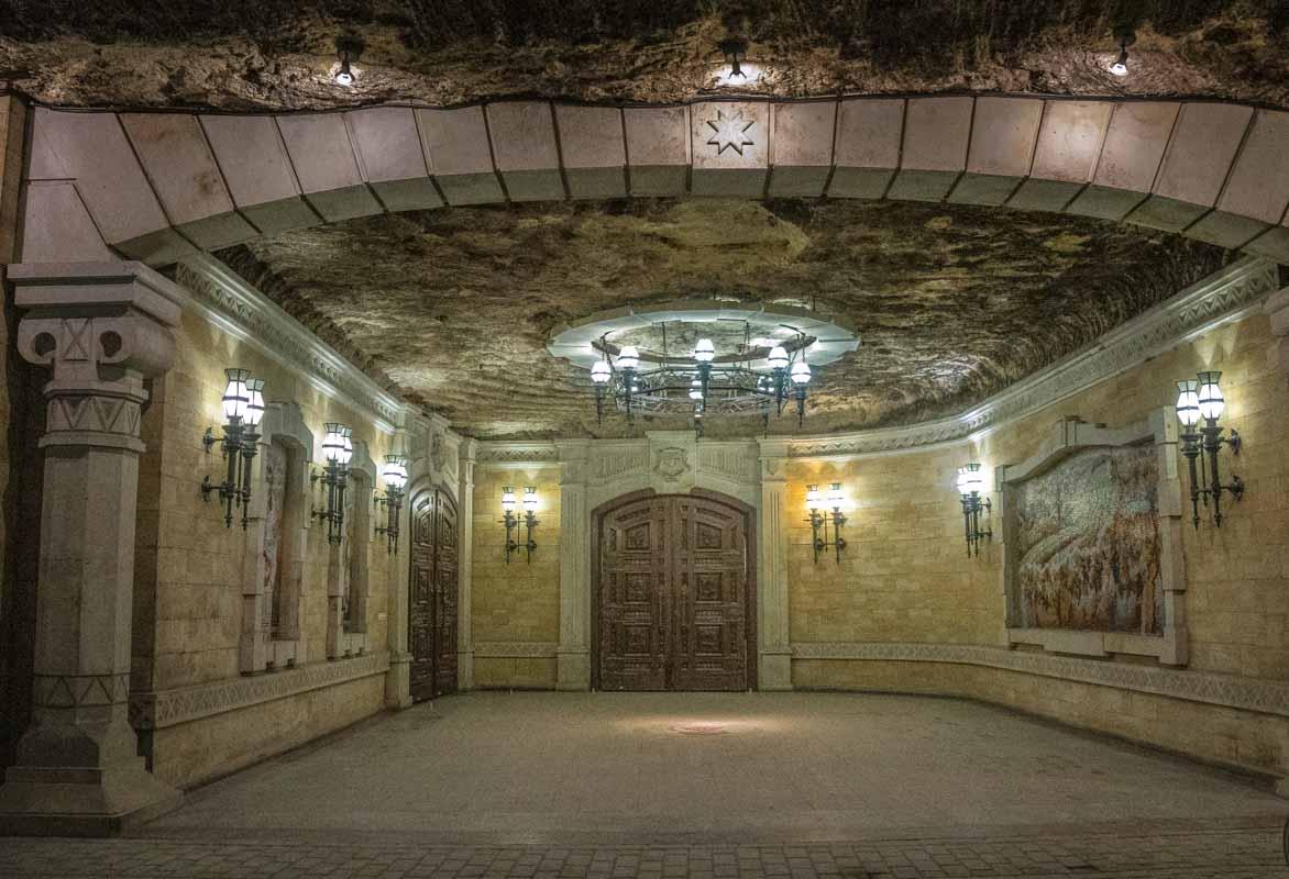 Cricova – Vinkælderen under jorden - Moldova