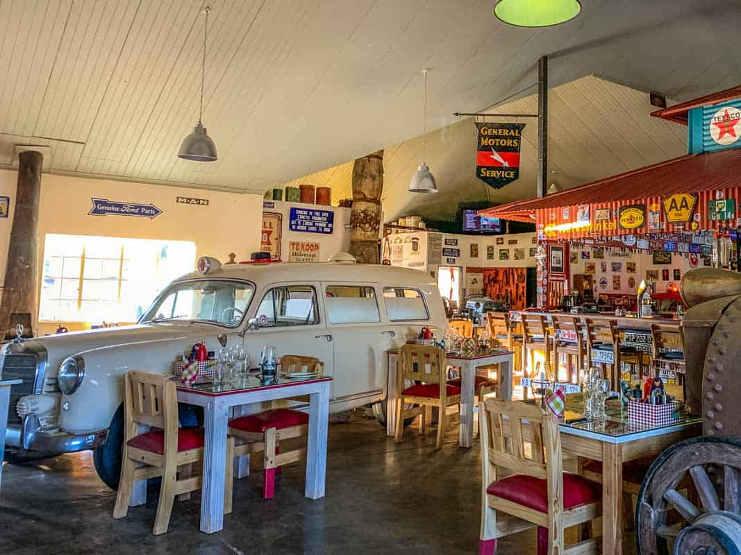 Anmeldelse af Canyon Roadhouse - Namibia