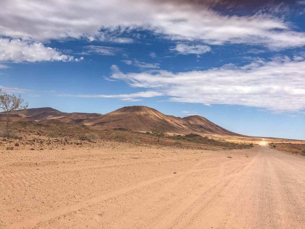 Billeje og kørsel i Sydafrika og Namibia