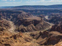 Verdens næststørste kløft Fish River Canyon - Namibia