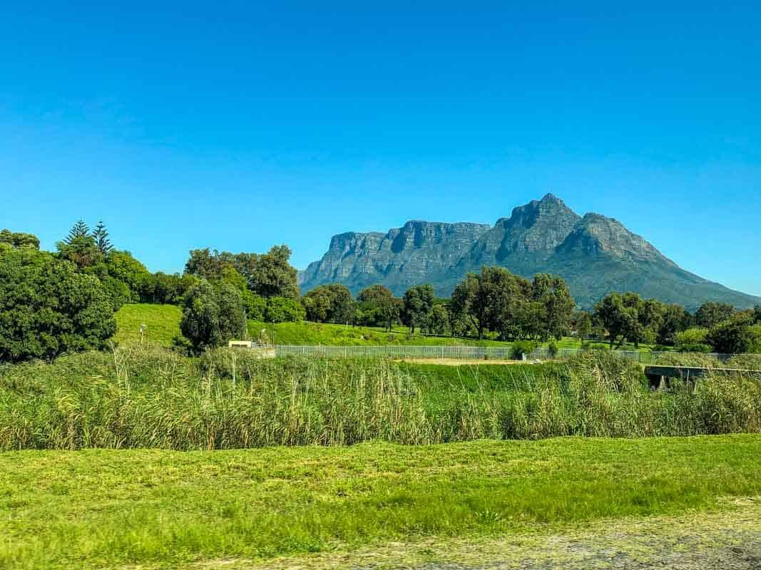 Vores første indtryk af Sydafrika