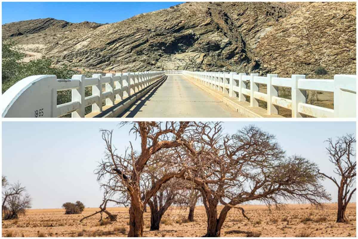Namib-ørkenen og røde klitter ved Sossusvlei – Namibia
