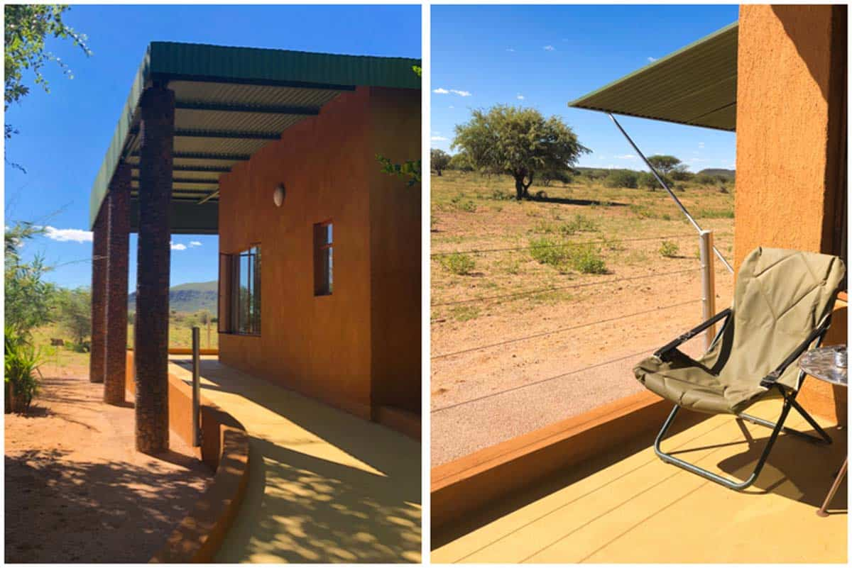 Safari ved Okonjima Plains Camp – Namibia