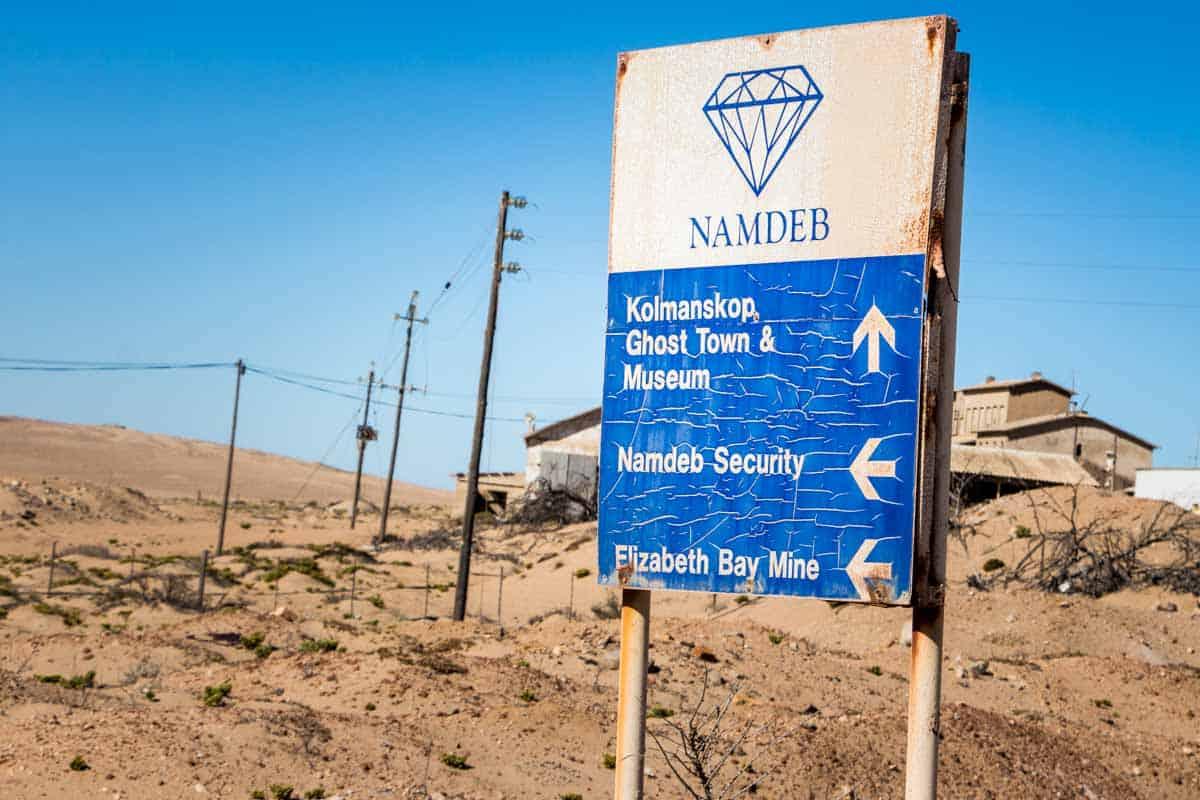 Spøgelsesbyen Kolmanskop - Lüderitz, Namibia