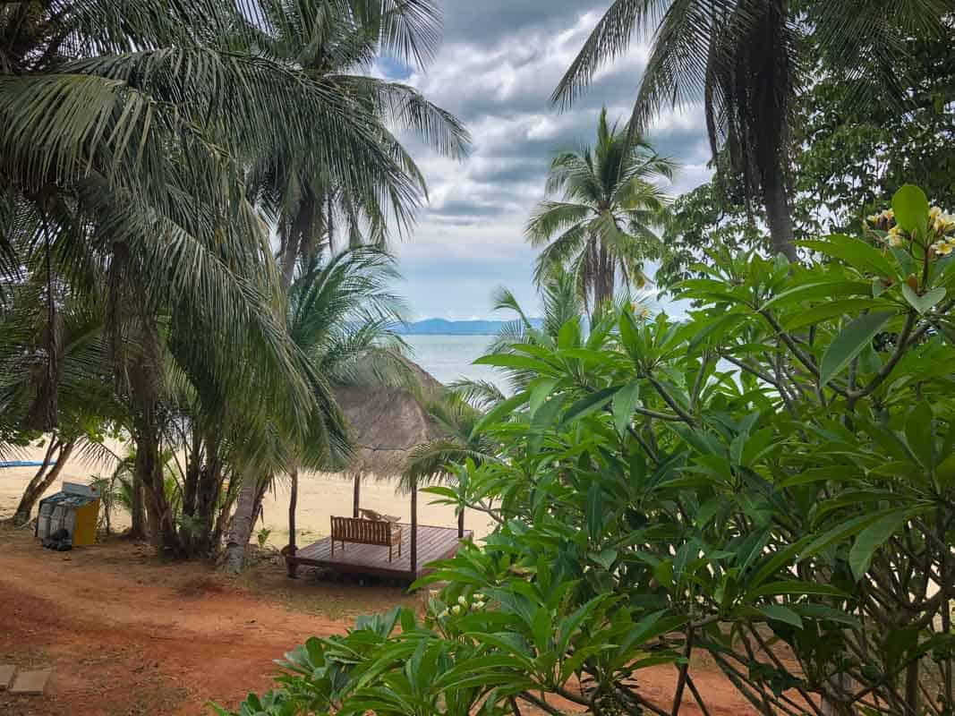Paradisøen Koh Talu ved Hua Hin - Thailand