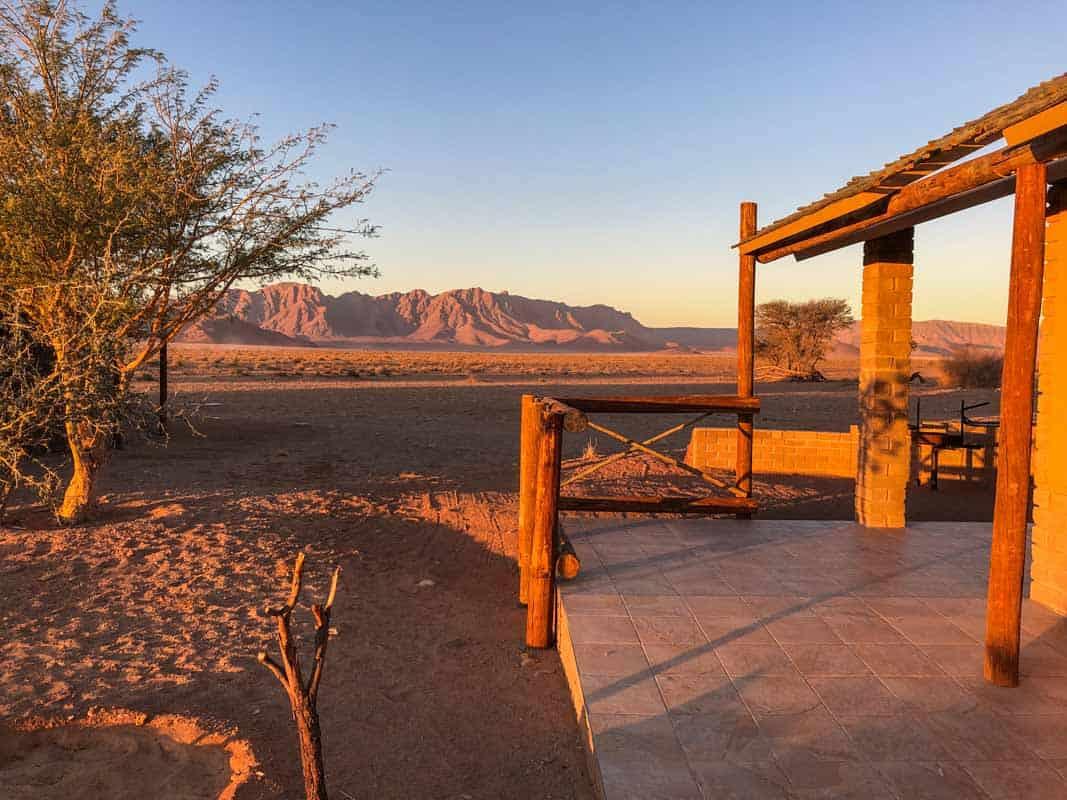 Overnatninger på Road Trip Sydafrika og Namibia
