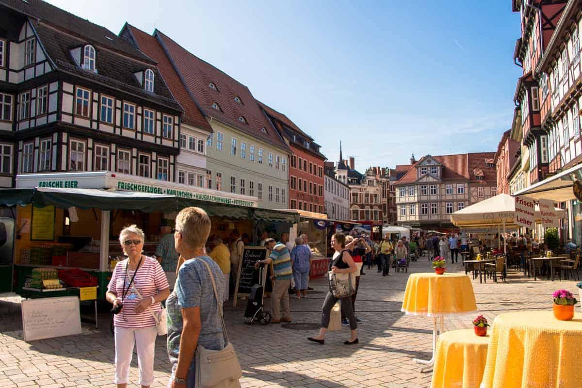 Turen går til Schleswig-Holstein, Tyskland