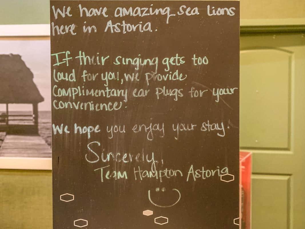 Anmeldelse af Hampton Inn & Suites Astoria – Oregon, USA
