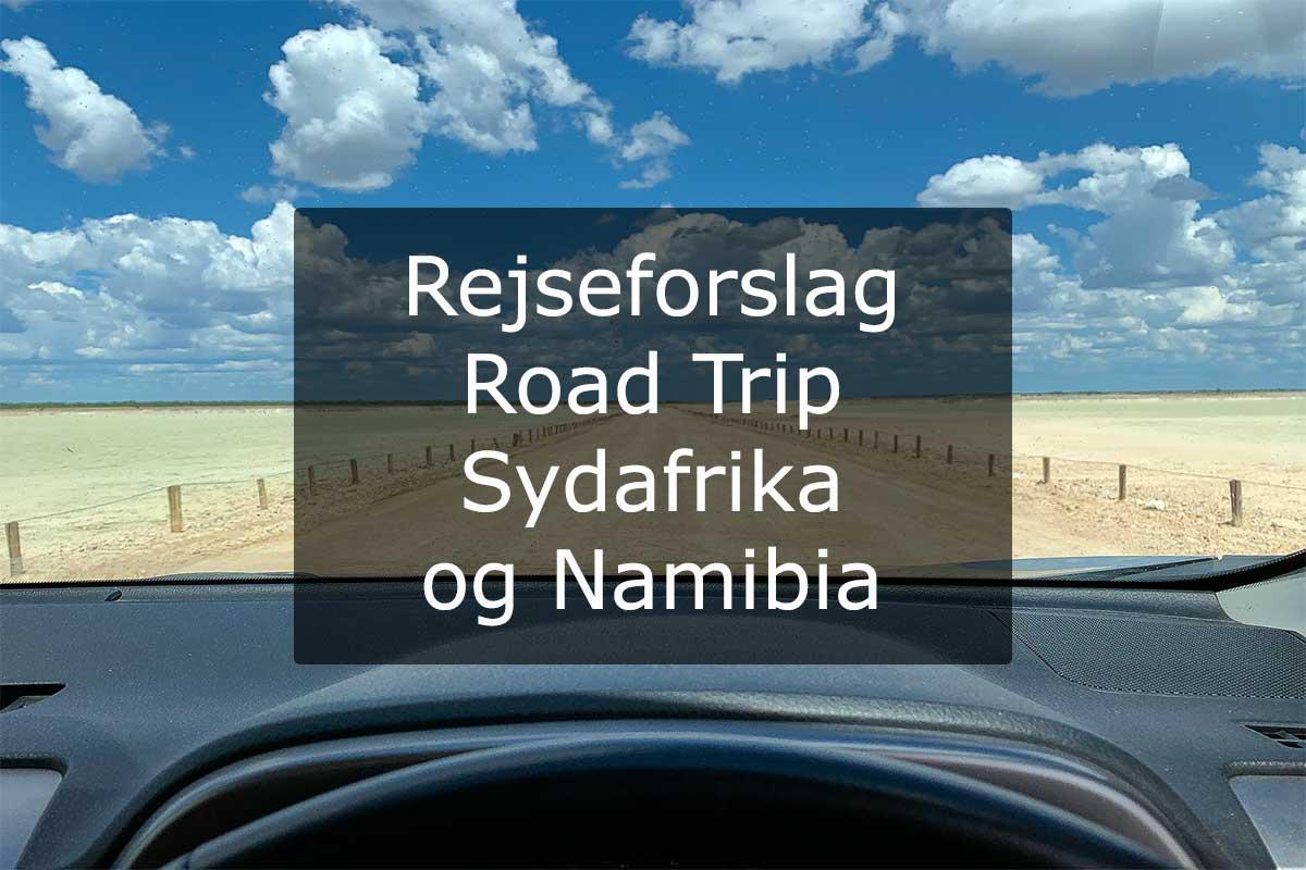 Rejseforslag Road Trip Sydafrika og Namibia