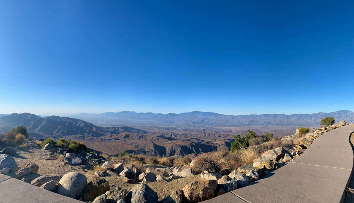 Joshua Tree National Park med de unikke træer – Californien, USA