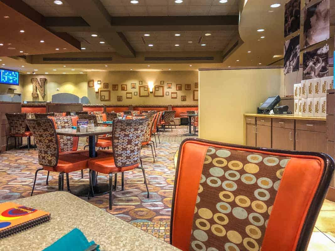 Kaffe på Jerry's Nugget Casino - Las Vegas, USA