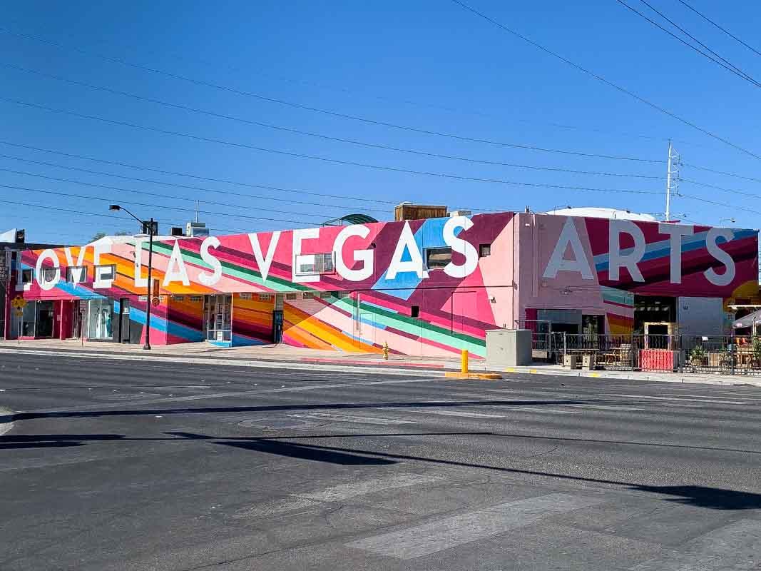 Kunstnerkvarteret Arts District i Las Vegas – Nevada, USA
