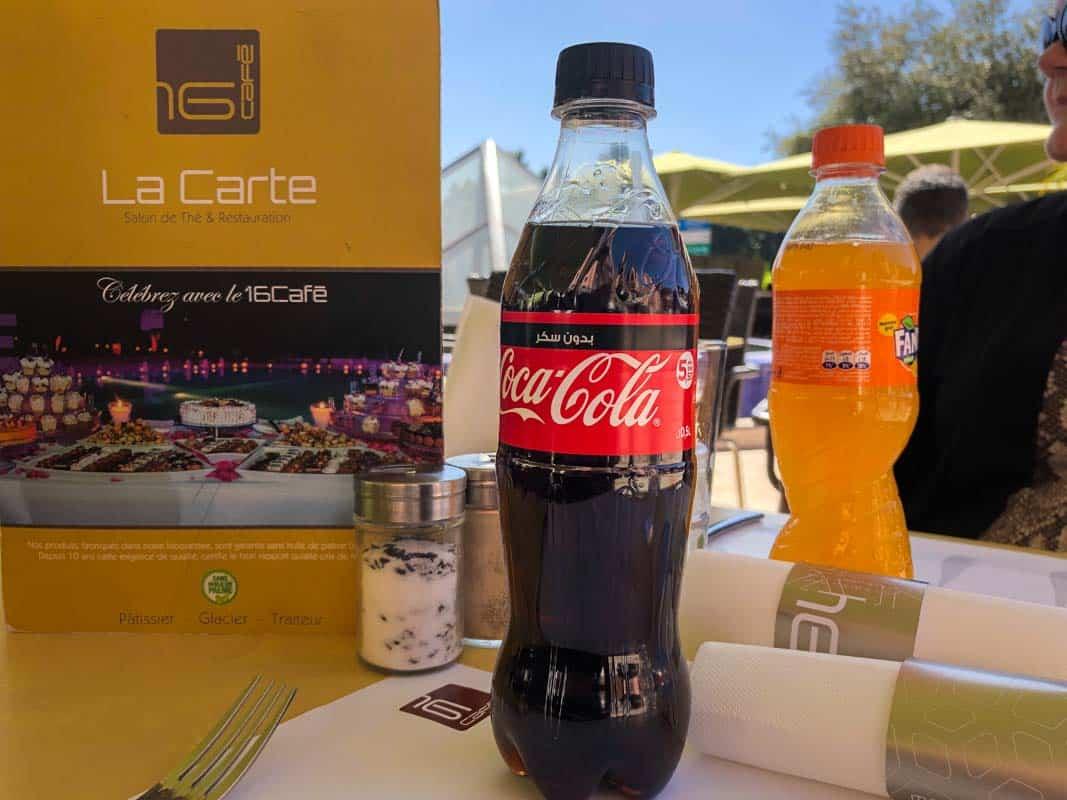 Anmeldelse af 16 Cafe – Marrakech, Marokko