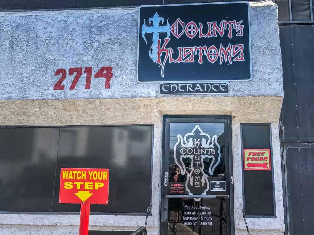 Fede biler hos Count's Kustoms – Las Vegas, USA