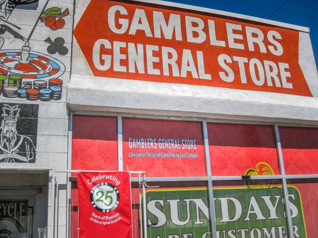 Gamblers General Store med spilleting - Las Vegas, USA
