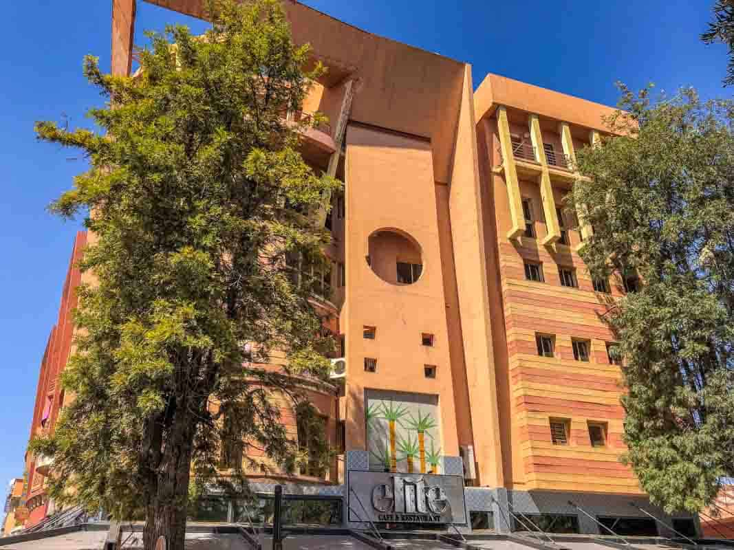 Marrakech den nye bydel – Marokko