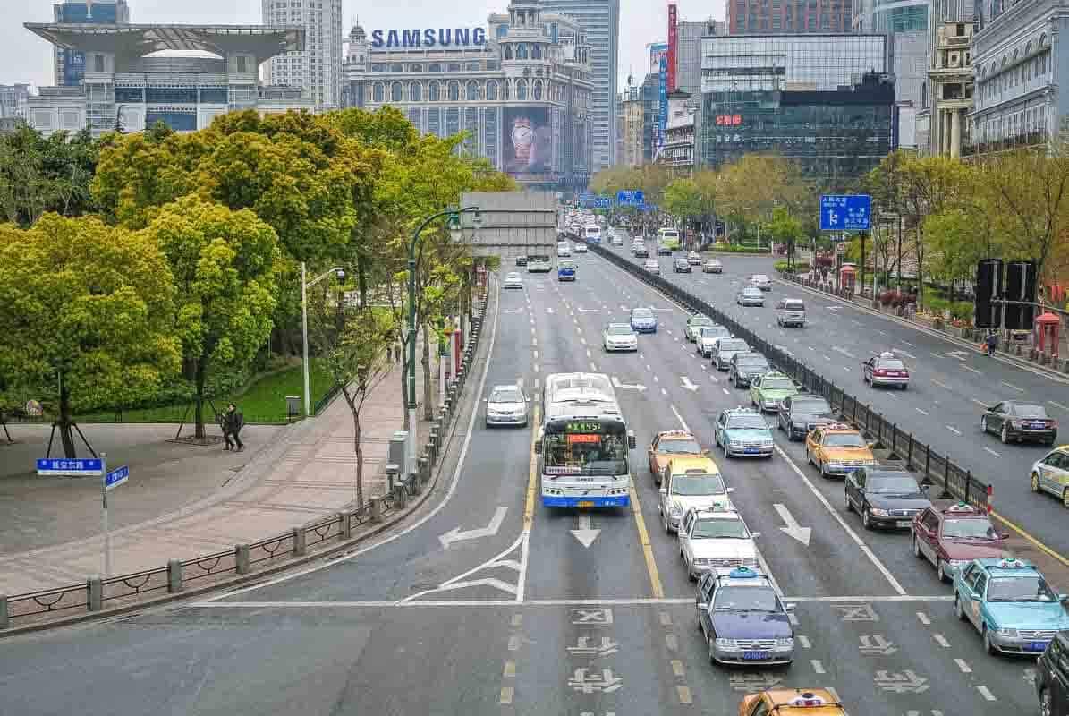 Oplevelser i Shanghai - Kina