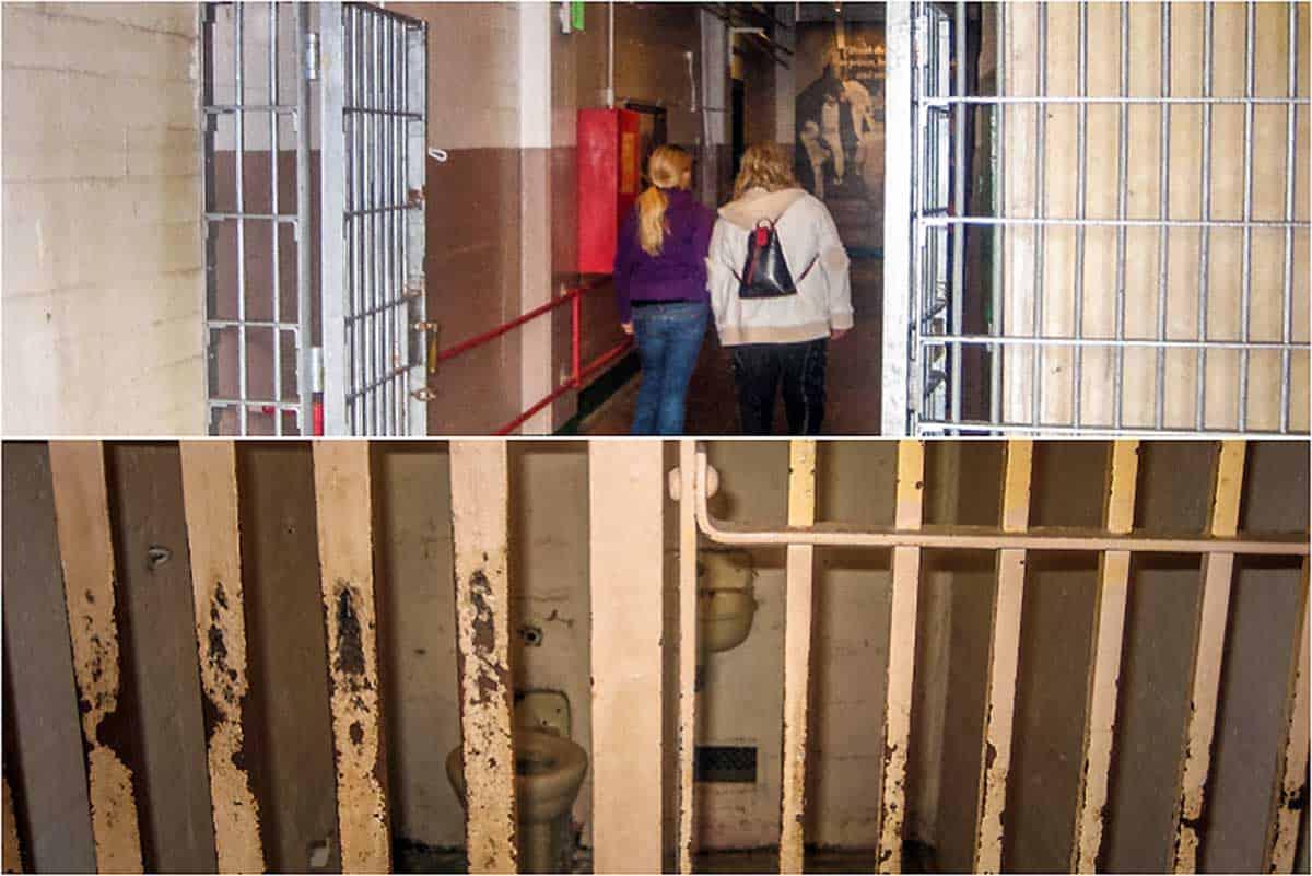 Alcatraz den gamle fængselsø - San Francisco, USA